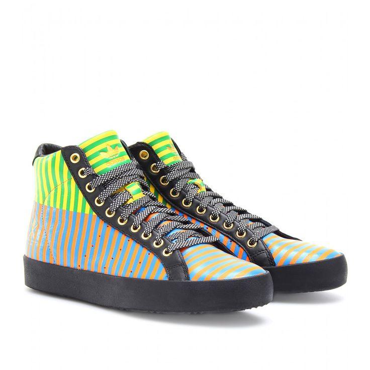Rod Laver Vintage High Top Sneakers Seen Www Mytheresa