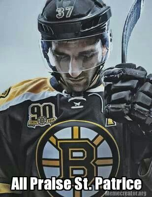 nhl hockey jersey hand patrice bergeron of the boston bruins by kc armstrong
