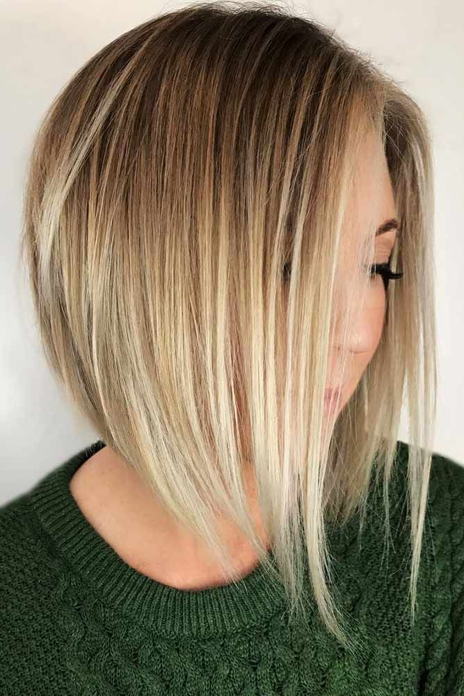 77 Ideas Of Inverted Bob Hairstyles To Refresh Your Style Blonde Bob Hairstyles Inverted Bob Hairstyles Bob Hairstyles