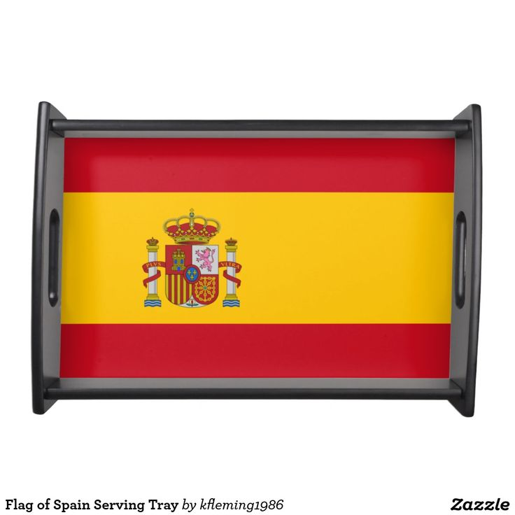 Flag of Spain Serving Tray