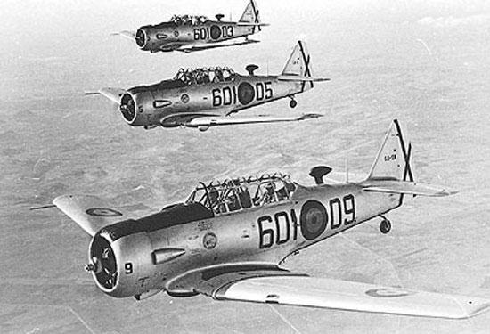 T-6 Texan; Spanish Air Force