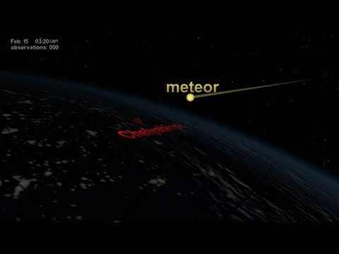 NASA | NPP Sees Aftermath of the Chelyabinsk Meteor Chelyabinsk meteor's plume of debris circles the globe