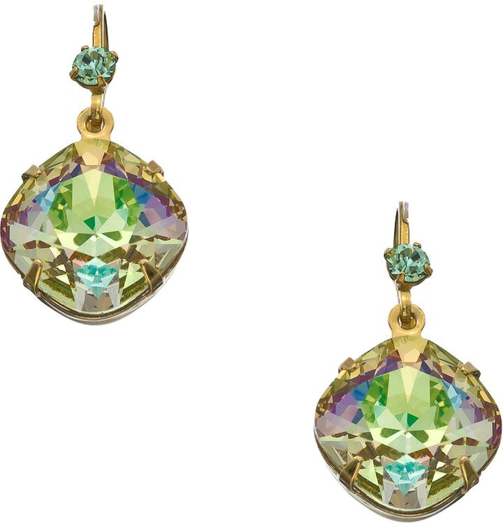 Liz Palacios Gold Chrysolite Opal And Luminous Green