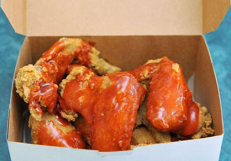 Chicken Wings with Mumbo Sauce. - Matt McClain/The Washington Post/Getty Images