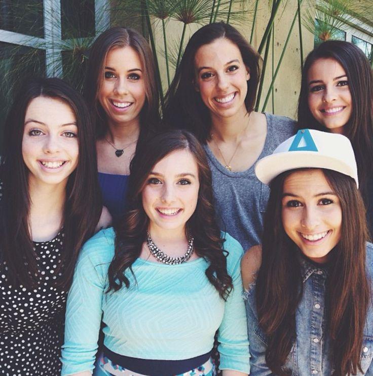 Cimorelli- They are all so pretty!!!!!!! <3 <3 <3