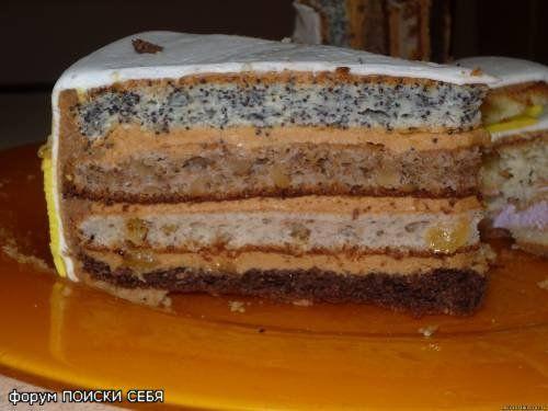 Торт королевский с фотками