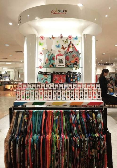 #Takashimaya‬, the best Department Store in #Singapore‬. Find the new LOQI Backpacks there now!