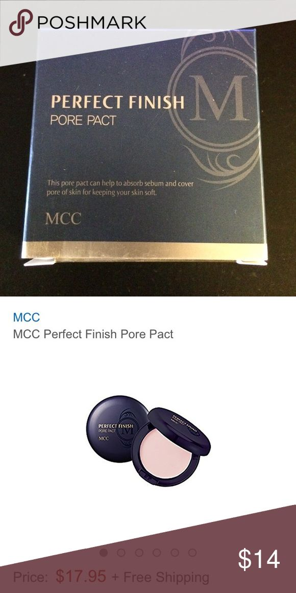 MCC perfect finish pore pack *Asian beauty* MCC perfect finish pore pact MCC Makeup Face Powder