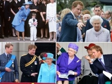 The Queen As A Grandmother: 20 Photos Of Her Majesty With William and Harry