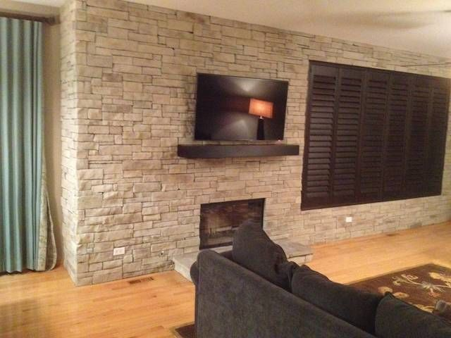 35 Best Images About Ledge Stone Fireplaces On Pinterest