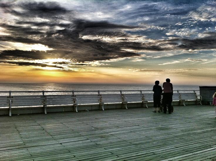 A walk along the pier