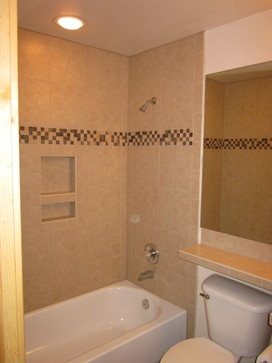tub tile surround design ideas, pictures, remodel and
