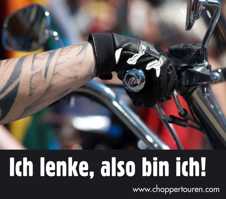 Ich lenke, also bin ich! :-)