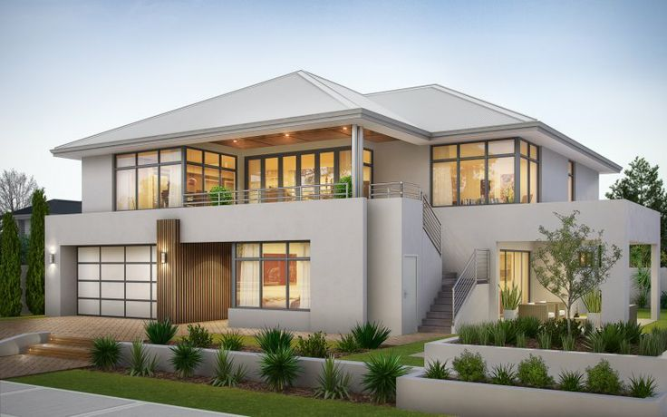 Best Reverse Living 2 Storey With Additional External Staircase 400 x 300
