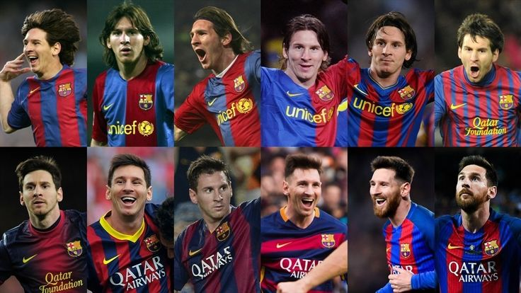 Messi 10, argentino, FC Barcelona. Historia de vida