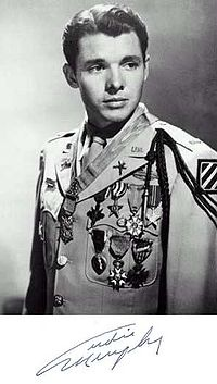 Audie Murphy - Most decorated soldier in World War II