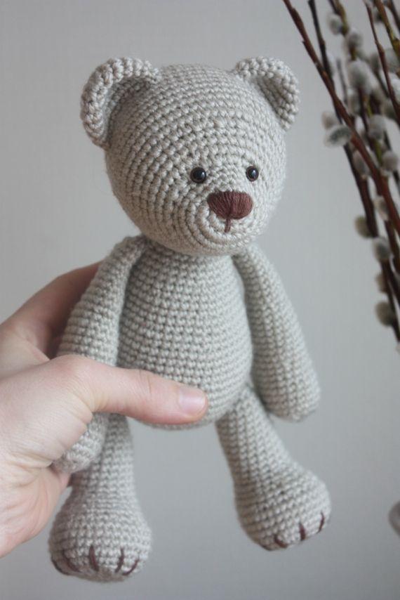 crochet tutorial teddy bear ♥ | Amigurumi, San valentino e Tutorial | 854x570