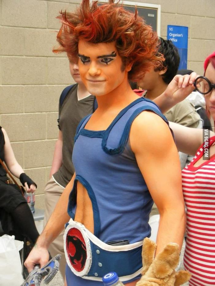 Epic ThunderCats cosplayers! Lion o!!