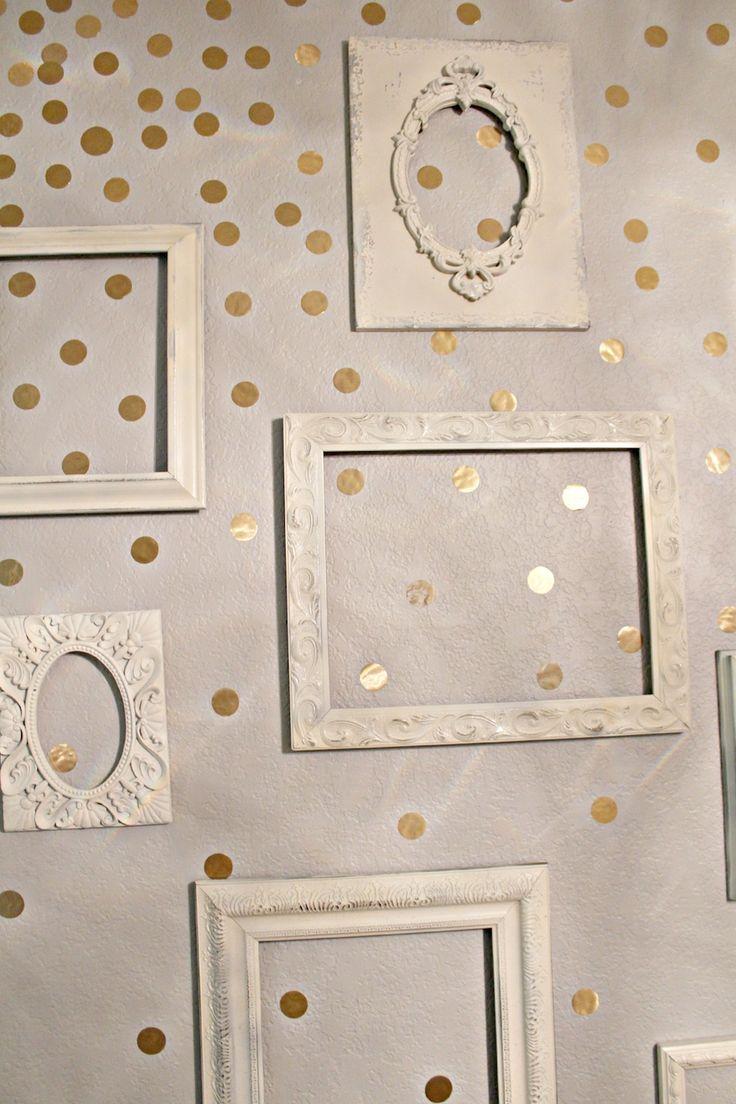 The 25+ best Gold polka dots ideas on Pinterest | Baby girl ...