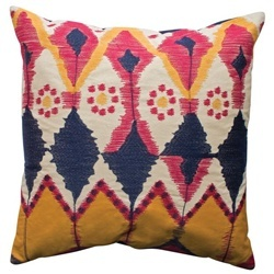 JAVA Ikat inspired Cotton Pillow 20x20 by Koko Company >> Gorgeous!