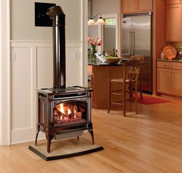 lopi berkshire greensmart gas stove modern fireplaces