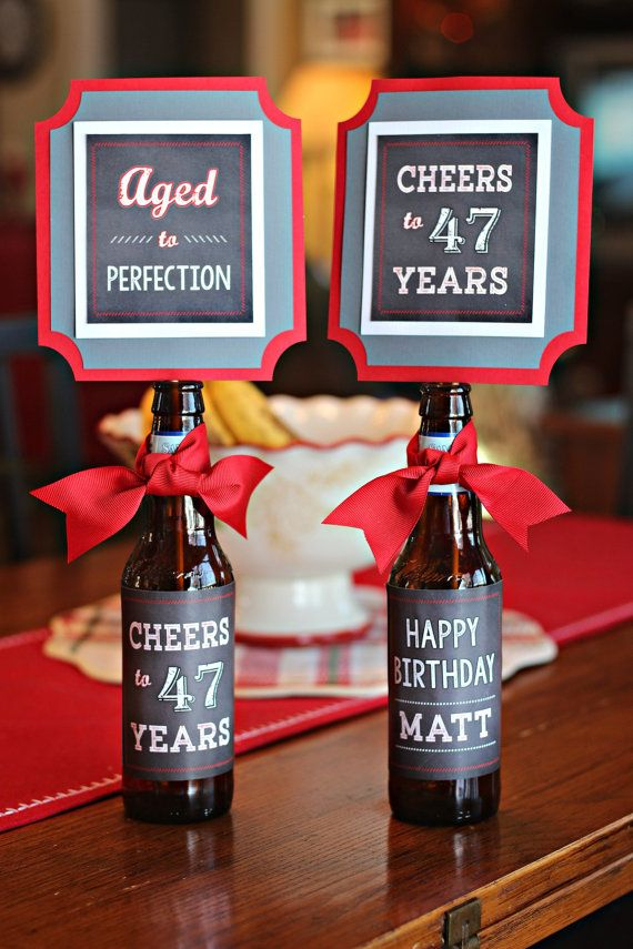 how to make birthday decorations for adults