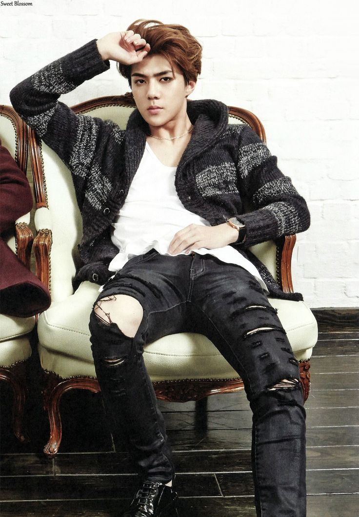 Sehun | [SCAN] EXOLOGY CHAPTER 1: ON STAGE & OFF STAGE