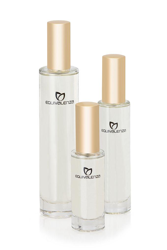 Perfume #Equivalenza en 3 formatos: 100 ml, 50 ml y 30 ml #dorado #gold