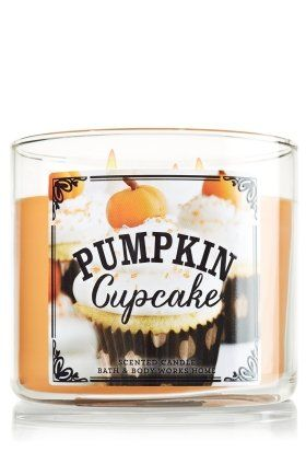 1 X Bath & Body Works Pumpkin Cafe Limited Edition 2014 PUMPKIN CUPCAKE 3 Wick Scented Candle 14.5 oz./411 g. Satisfy Your Sweet Tooth With The Scent Of A Freshly Baked Pumpkin Cupcake Covered In Loads Of Rich Buttercream Frosting. Highly Fragranced Candles Made Using The Highest Concentration Of The Richest Fragrance Oils. An Exclusive Blend of Vegetable Wax And Lead-Free Wicks, Resulting In An Exceptionally Even Burning Candle and An Amazing Fragrance Experience. This 3-Wick Candle Burns…