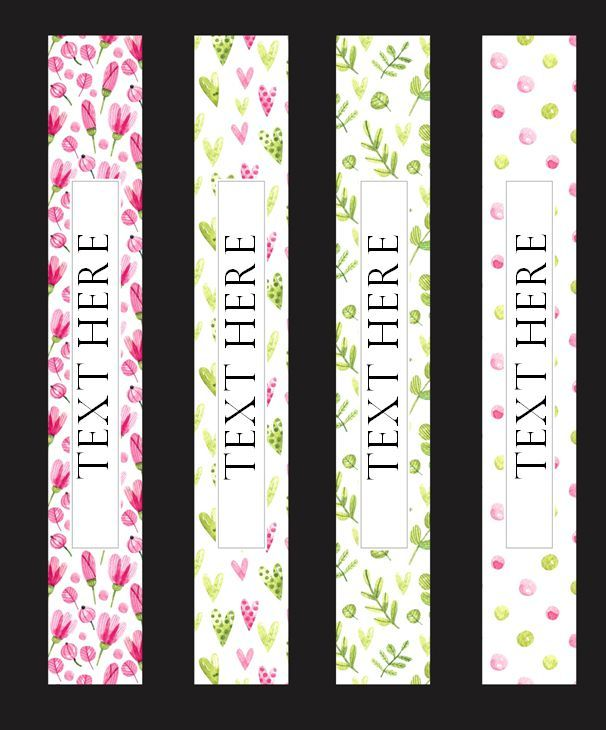 binder spine templates