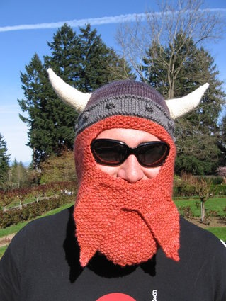 One day I will knit this for my brother since he is SO jealous of my husband's beard :)