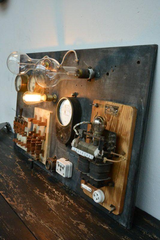 Ancien tableau électrique                                                       …