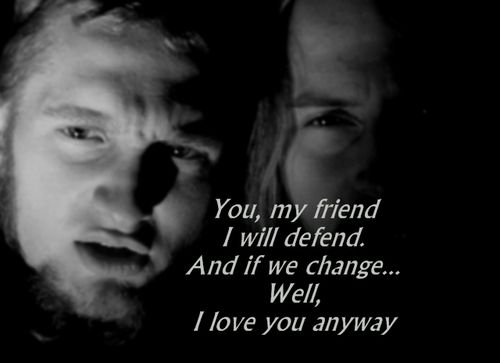 "Jerry Cantrell Answering A Question About His Fondest Memory Of Layne Staley  ""I don't really have a 'fondest memory.' There's… (Tears Building up) …there's so many of them. I spent a good portion of my life with him. He was our best friend and a brother and collaborator.  ""The whole thing was good, even the tough stuff. Life 's not always good, but even the parts that aren't so good are an important part of a life. I feel very lucky to have known him, and to have known him as well as I…"