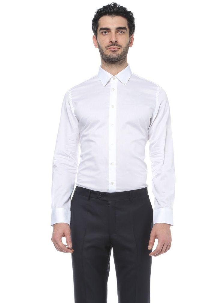 Белая рубашка на высокий рост