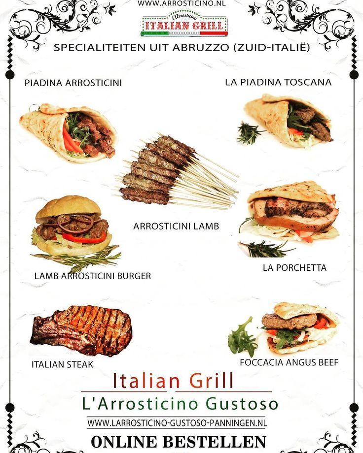 U kunt de #heerlijke #gerechten van de #ITALIAN #GRILL - L'ARROSTICINO GUSTOSO nu ook bestellen via #THUISBEZORGD! (regio #Panningen - #Limburg)  Nu dus ook thuis genieten van de #specialiteiten uit #Abruzzo (Zuid-Italië). http://bit.ly/2fheURE  #arrosticini #italie #piadina #foodtruck #cibodistrada #fastfood #slowfood #catering #wkr #bedrijfsevenement #catering #smaak #authentiek #porchetta #focaccia #burgers #grill #lamsvlees #italiansteak #agnusbeef
