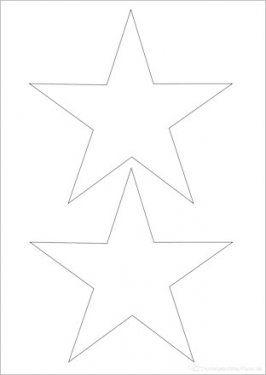 druckvorlage stern   sterne basteln vorlage, weihnachten