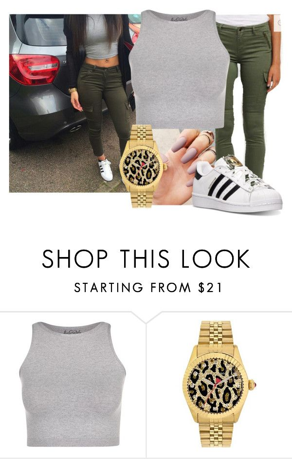 """""""""""all my bitchez got real hair chillin with their top down screaming like ayo""""- chris brown tyga ayo"""" by bitchgotswagg ❤ liked on Polyvore featuring Miss Me, Free People, Betsey Johnson and adidas"""