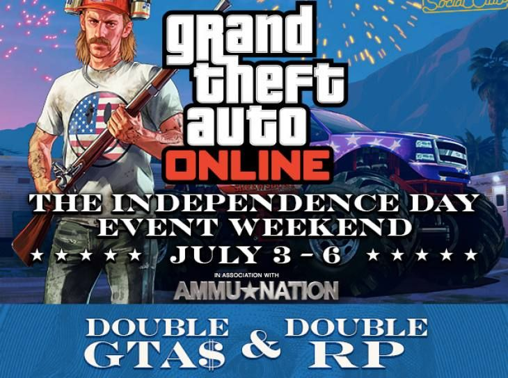 Rockstar Games GTA V Independence Day Event Ends Tomorrow [Video]