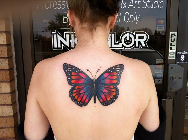 http://tattooideas247.com/butterfly-back-tattoo/ Butterfly Back Tattoo