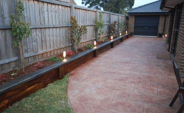 Build Raised Garden Bed Along Fence Garden Designs Along Bed Build Designs Fence Gard Building A Raised Garden Building Raised Garden Beds Garden Beds
