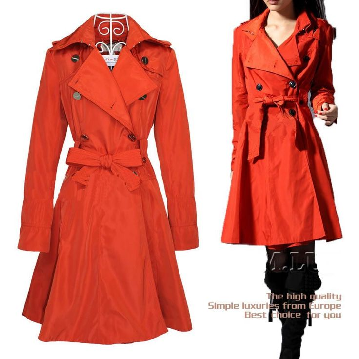 29 best Coats images on Pinterest | Trench coats, Women's trench ...