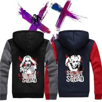 Suicide Squad Harley Quinn Joker Katana Fleece Hoodies. Get yours while stocks last! #TitanDesignTech #FreeShipping