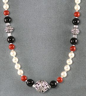 new beaded necklace designs free necklace designs made with wire beads gemstones - Necklace Design Ideas