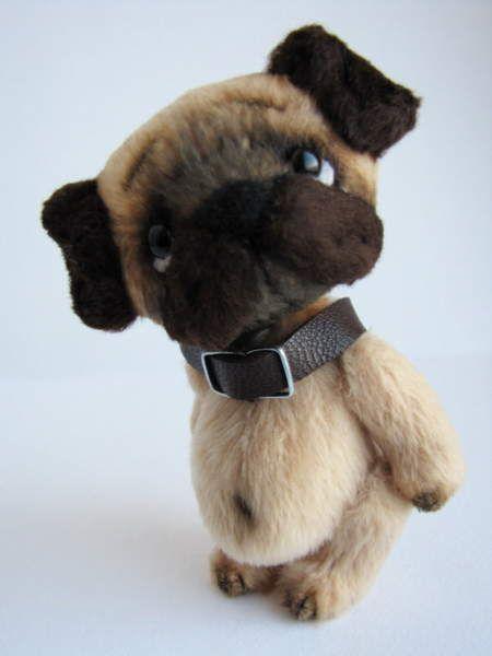 Pug-dog by MaGy