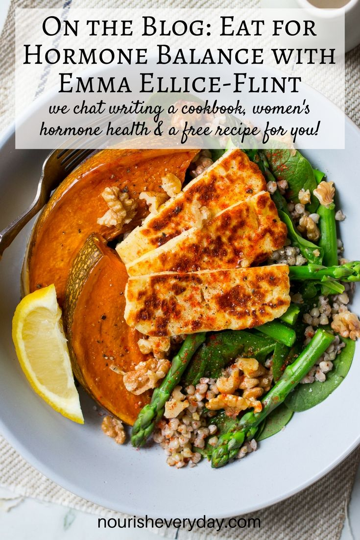 Tips for women's hormone balance, healthy eating and a delicious recipe by Emma Ellice-Flint, qualified nutritionist, presenter, chef and author.