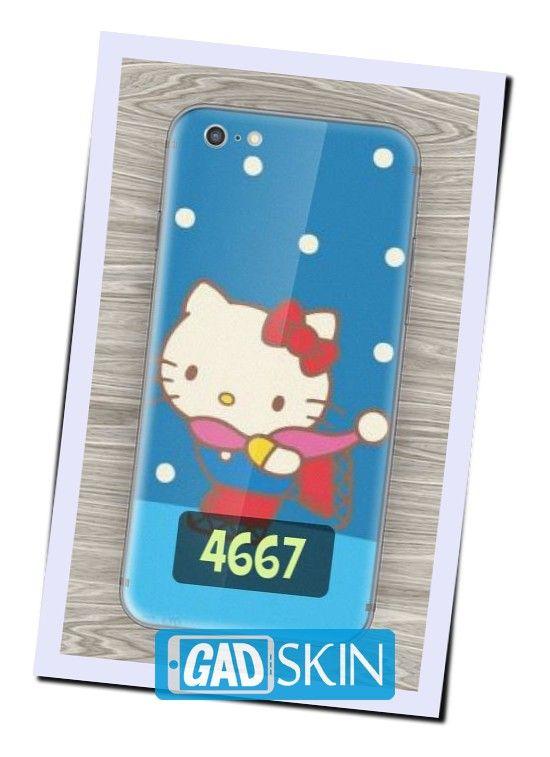 http://ift.tt/2d5YrAy - Gambar Hello Kitty Salju ini dapat digunakan untuk garskin semua tipe hape yang ada di daftar pola gadskin.