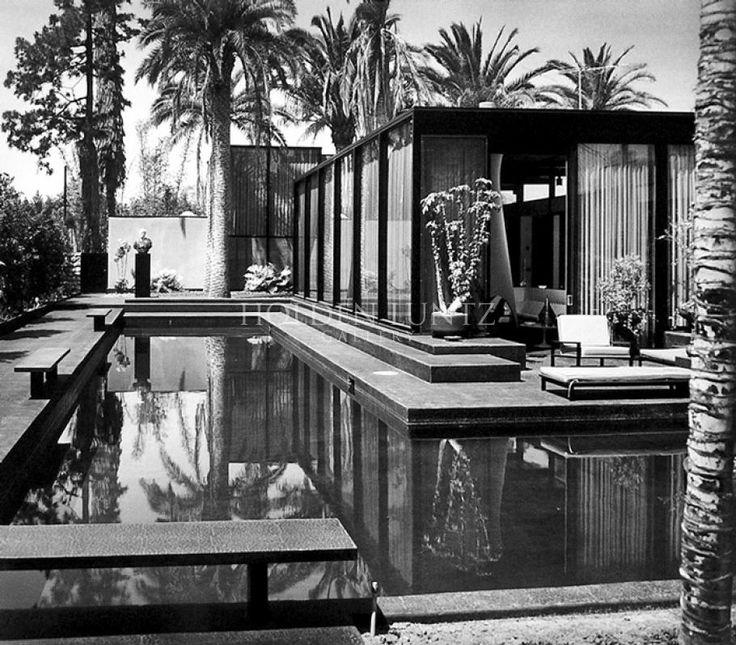 Julius Shulman - William Pereira House, Los Angeles, 1960. Holden Luntz Gallery