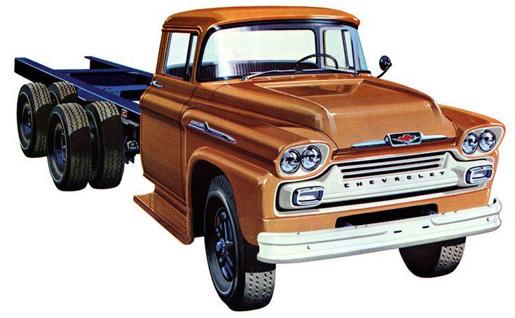 1958 Chevrolet Series 100 Spartan Tandem