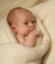 Engel organic merino wool Baby Blanket