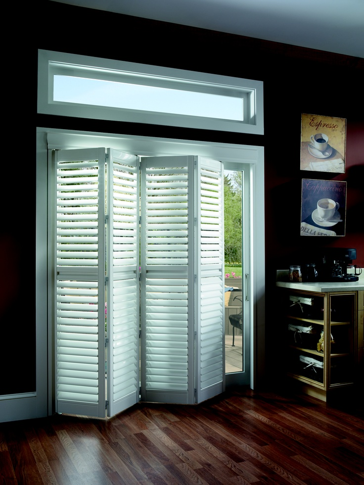 Shutters in the kitchen (With images) | Sliding glass door ...